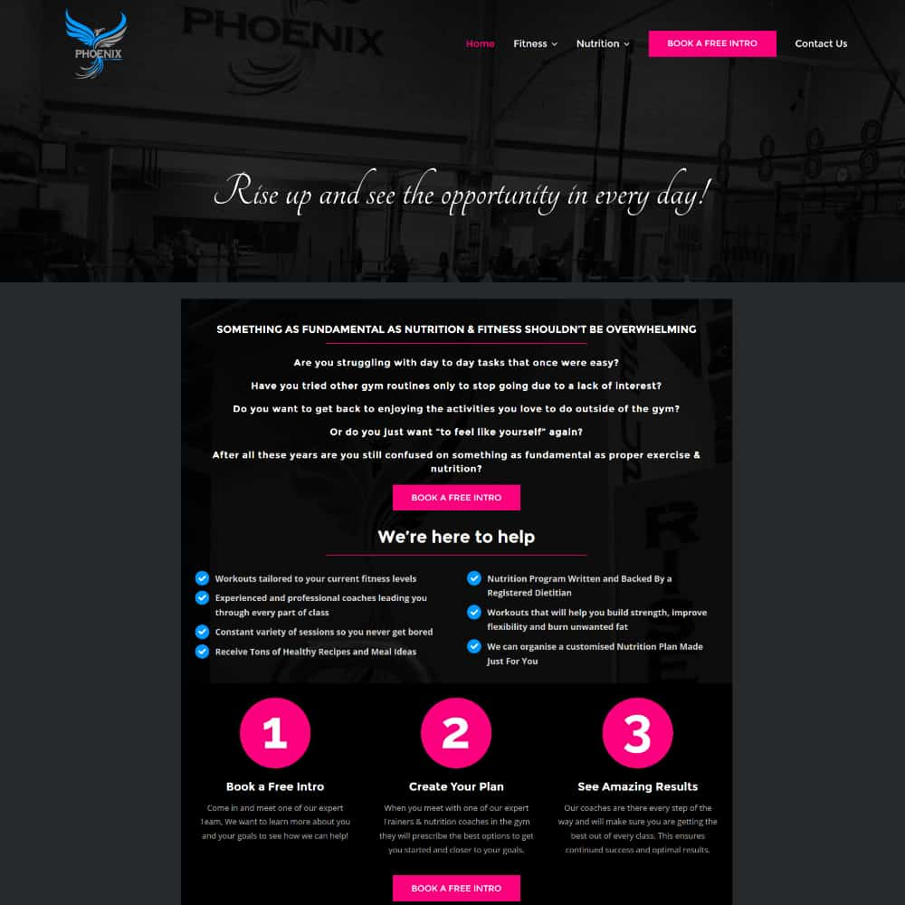 Phoenix Strength and Conditioning - New Website Launched
