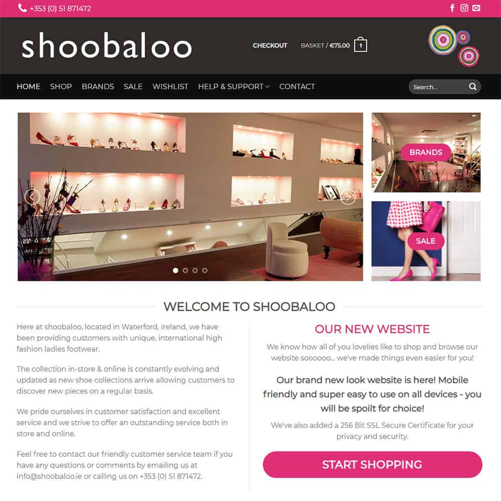 shobaloo – new eCommerce website launched